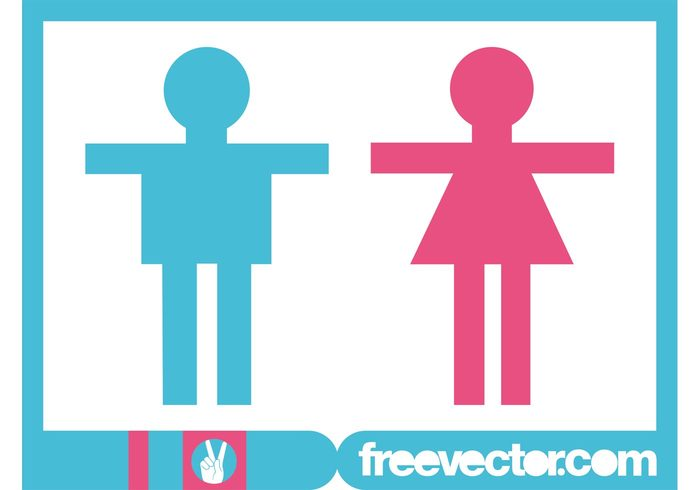 woman symbols symbol silhouette person people man male icons icon female
