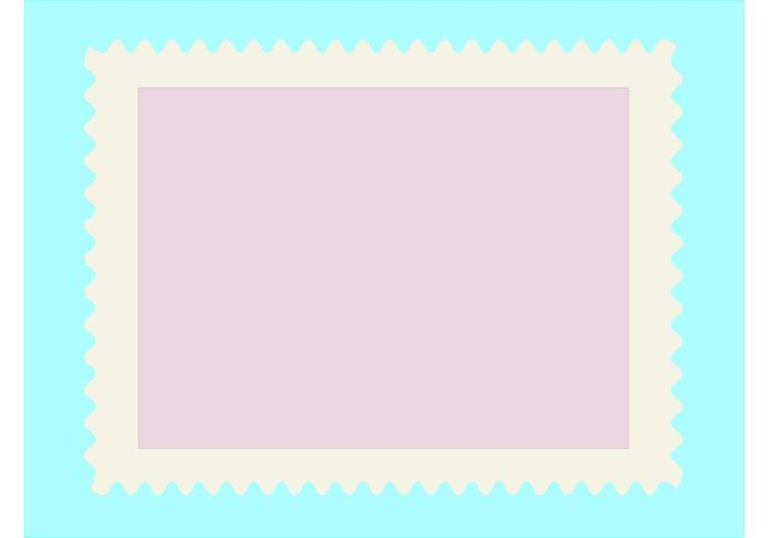 post mailing mail letter frame empty deliver customized customizable custom communication clip art card border blank