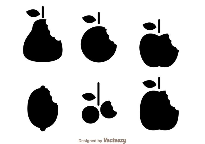 teeth silhouette shape pear orange mark fruit food eaten eat cherry black bite marks bite mark on fruit bite mark Bite apple