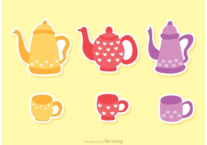 victorian teapot teacups tea party tea cup tea saucer party isolated hot high tea floral cups colorful breakfast afternoon