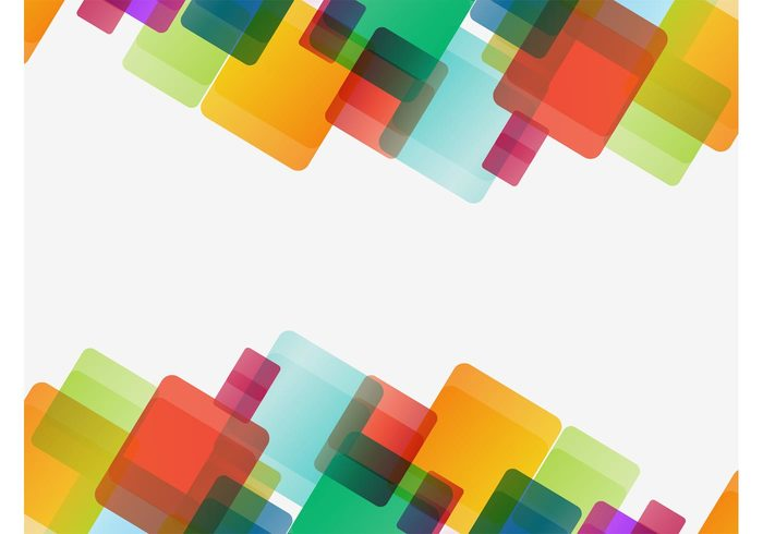 squares rounded Geometry geometric shapes decorative decorations colorful background backdrop abstract
