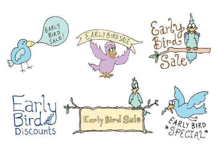 worm sales sale percent on sale off holidays flying early bird early cute character cartoon branch Black friday birds bird