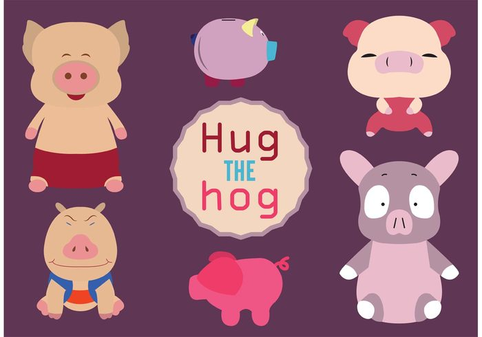 young toy tail Smile pork playful pink piglet piggy bank piggy pig moneybox isolated hug hog happy funny fun fluffy cute character cartoon baby animal adorable