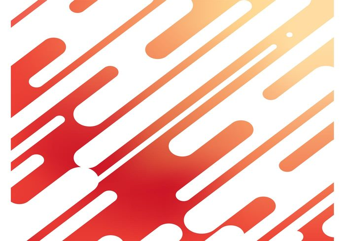 round repeating red rays pattern orange movement motion dynamic diagonal Desktop wallpaper design abstract