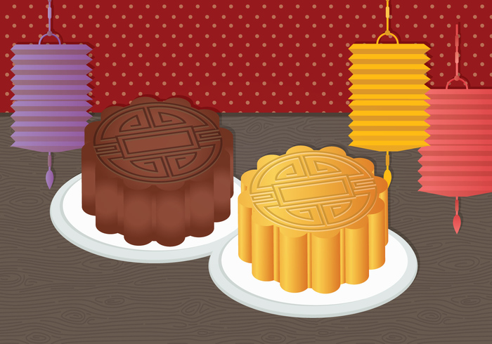 yummy treats Treat traditional dish traditional Tradition plate objects mooncake lamps lamp Isolated Objects food dish colorful cake asia