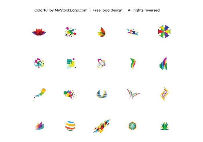 typography symbol sign shape set scroll logo icon form figure emblem design decoration curve cursor contour circle button abstract