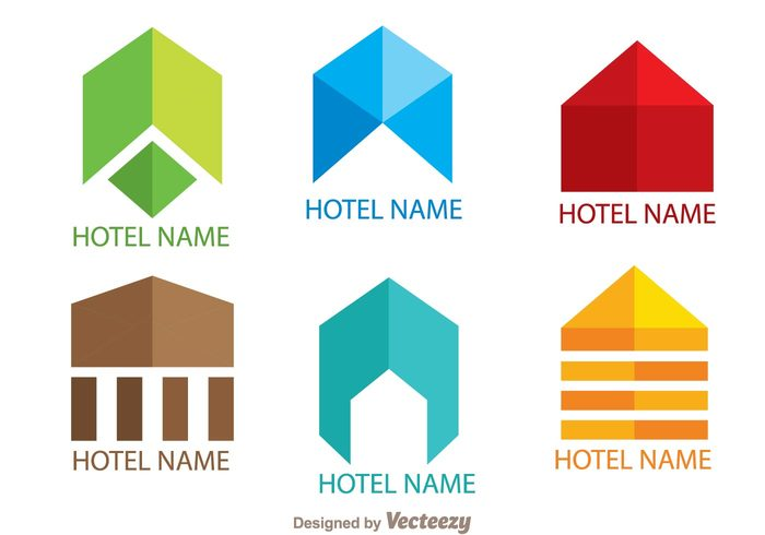 template symmetric symbol simple logo simple shape resort logo line house hotels logos hotels logo hotel logo hotel colorful building logo Build abstract logo