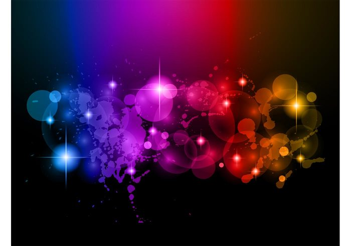 wallpaper splatter sparkles shiny rainbow lights grunge colors colorful bubbles bokeh background abstract