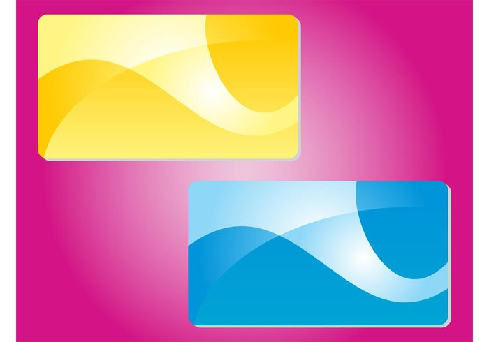 waving waves wallpapers templates shapes lines curves curved colors business cards Backgrounds