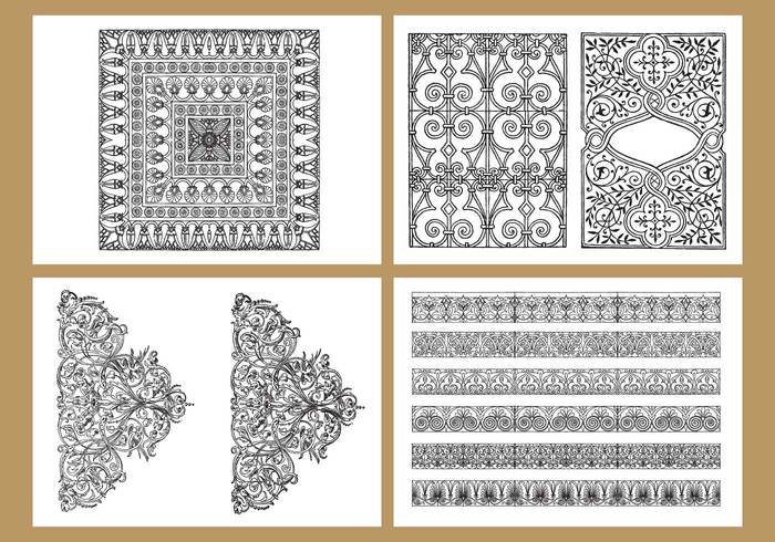 white therapy Sketchbook silhouette round repeated picture pen pattern painting page meditation Mandala line kids isolated ink indian illustration henna hand free flower drawn drawing doodle difficult detailed design coloring pages coloring circle children book black background Adult