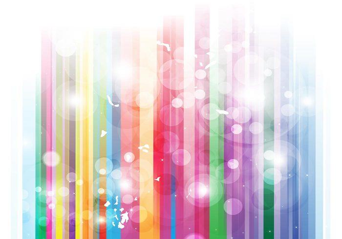 Utopia stripes spectrum rainbow multicolored light joy hippie happiness flower power colors colorful Circus Better world