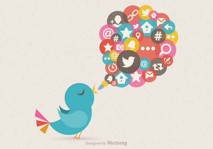 vector twitter bird vector twitter text technology symbol speech bubble social networking social media social message media marketing internet icon global communications following discussion creativity Copy-space contemporary Concepts computer icon community communication colorful chat room business bird Backgrounds backdrop abstract