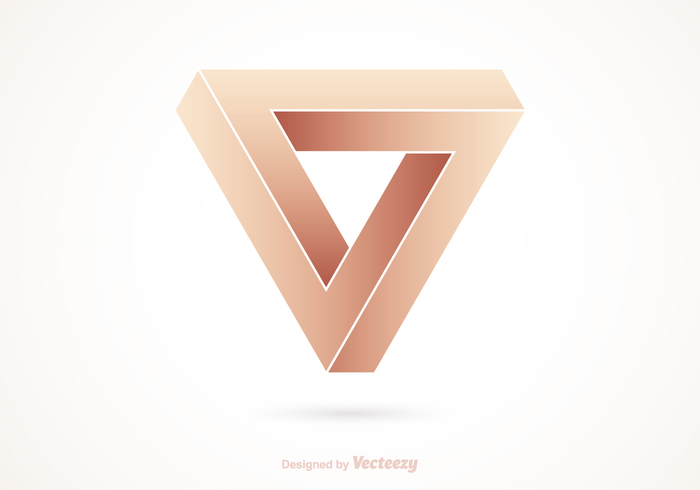 visual vector triangle three-dimensional thinking technology technical symbol sign shape scientific science perception Penrose optical Mathematics magic loop logo infinity infinite loop impossible imagination illustration illusion Geometry geometric forever eternity Endless cube creativity Construct connection complexity amazing abstract