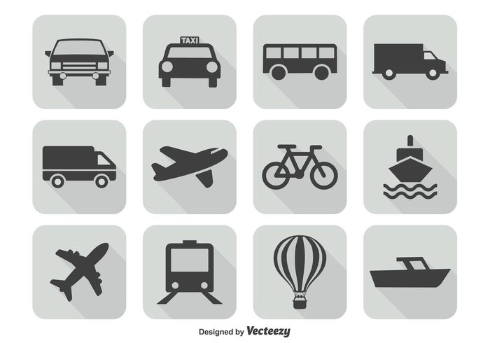 vehicle van truck trip transportation icon set transportation icon transportation transport tramway train traffic symbol subway sign shipping shipment ship shape set semi-truck sailing railway railroad public power nautical motorcycle motor mode mobile metro location industry icon graphic freight element direction Destination delivery cycling concept collection car bus bicycle aoutomobile airplane