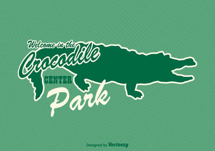 Zoo wildlife wild water vector typography tropical teeth tail symbol sticker silhouette Serious scary reptile predator power picture nature mouth lizard large Jaw isolated illustration icon head green gator drawing design crocodile Carnivore background art animal alligator abstract