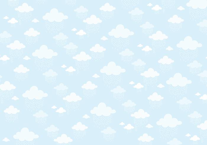 water wallpaper rain pattern ornamental fluffy drops decorative decoration deco clouds blue background