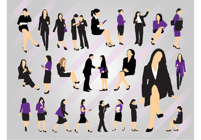 Woman at work standing secretary Phone call office meeting manager jobs businesswoman Assistant accountant