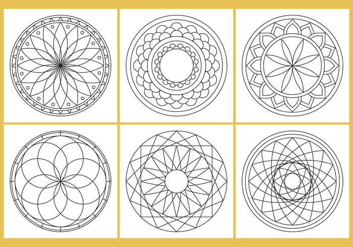 white therapy Sketchbook silhouette round repeated picture pen pattern painting page meditation mandalas Mandala line kids isolated ink indian illustration henna hand free flower drawn drawing doodle difficult detailed design coloring circle children book black background Adult