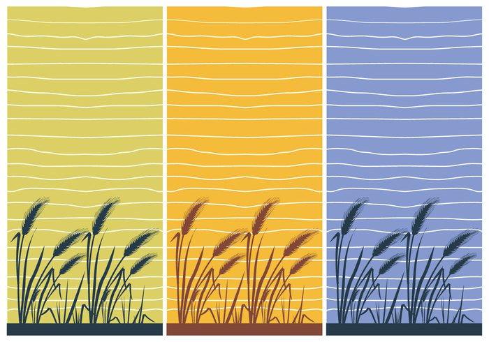 wallpaper vintage texture Textile seamless rice field rice retro pattern ornament nature line leaf interior house home gardening garden flat field farm decor background Asian