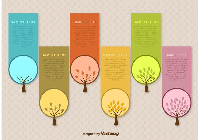 Seasonal Tree Label Vector Templates 118668 Welovesolo