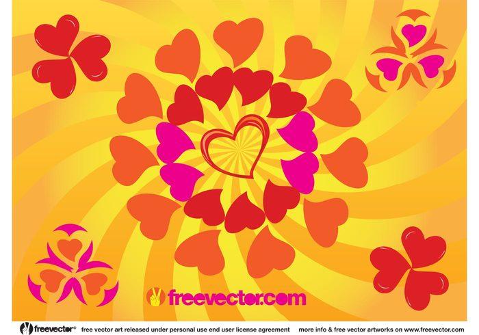 wedding valentine sunny sun summer spring romantic retro radiant pop art lovers love hearts Heart shapes heart fun friendship friends cool bright