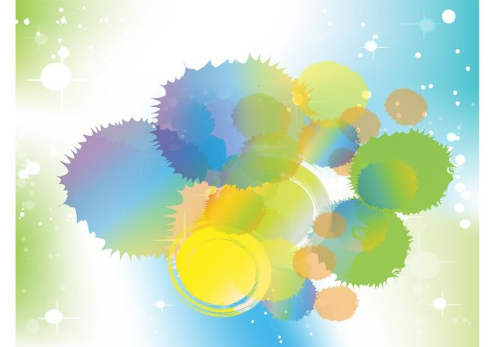 stars splatter splash paint multicolored liquid ink happy fun free backgrounds dots creative colorful abstract