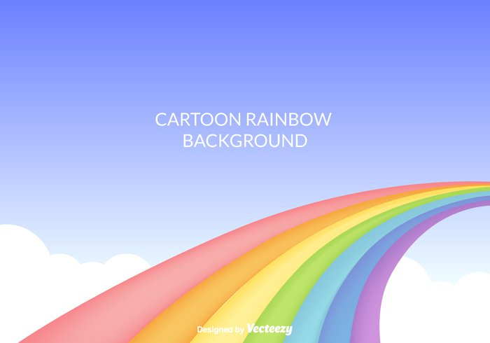 vector rainbow vector summer springtime spring sky season rainbow background rainbow nature background nature lines image illustration icon horizon holiday happy free design decoration decor colorful color clouds cloud cartoon rainbow cartoon illustration cartoon blue sky background backdrop abstract