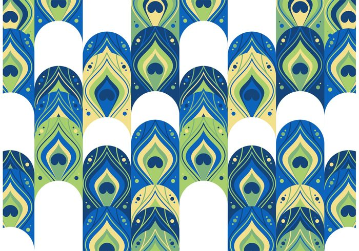 peacock pattern free vector 107780 welovesolo