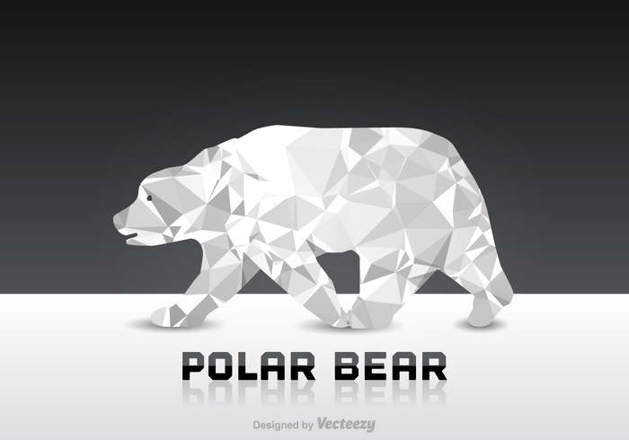 Zoo winter wildlife wild white weather vector triangle snow sky silhouette polygonal polygon Polar paper origami Northern north nature mammal illustration ice graphic geometric fur frost freeze Dangerous danger creative cold climate Carnivore Bear vector bear background arctic Antarctic animal alaska abstract