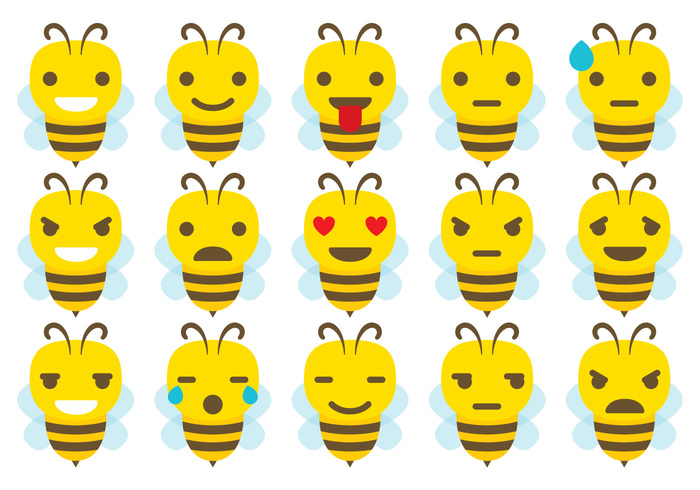 Nice bee Vector expressions