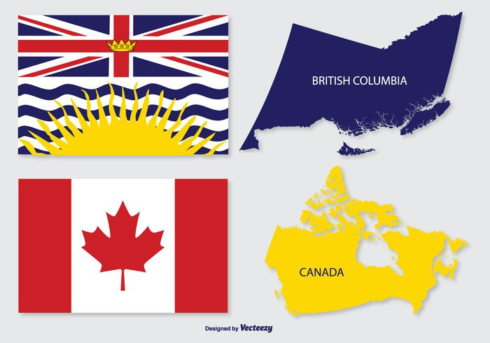unity travel territorial symbol silhouette scene rural province Place Physical outline north non-urban map isolated intricacy international interface government geography Geographic flags flag element country Columbia color Coastline cities Cartography capital canada map canada flag canada business british columbia map british columbia British border background area