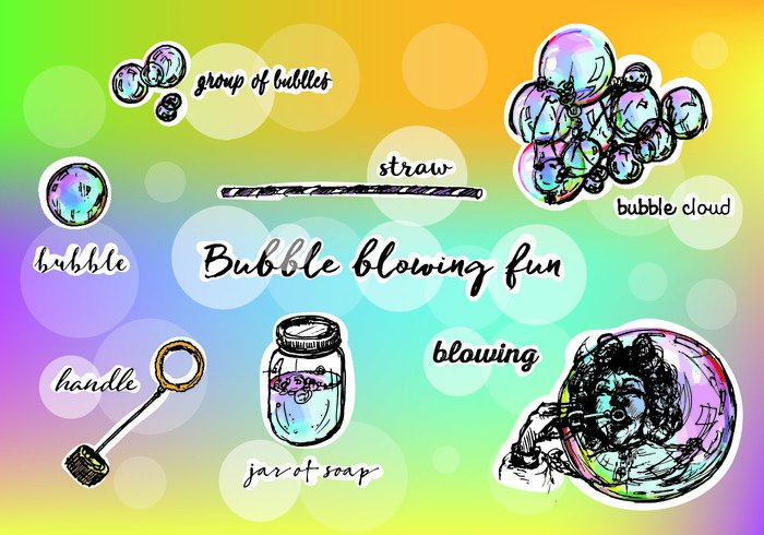 whimsical spring sphere soap bubble soap reflection Recreation playful outside magical magic light isolated iridescent imagination happiness glossy fun freshness eps10 dreams detergent colorful closeup close-up clear bubble bright blowing bubbles blowing blow black beautiful ball background