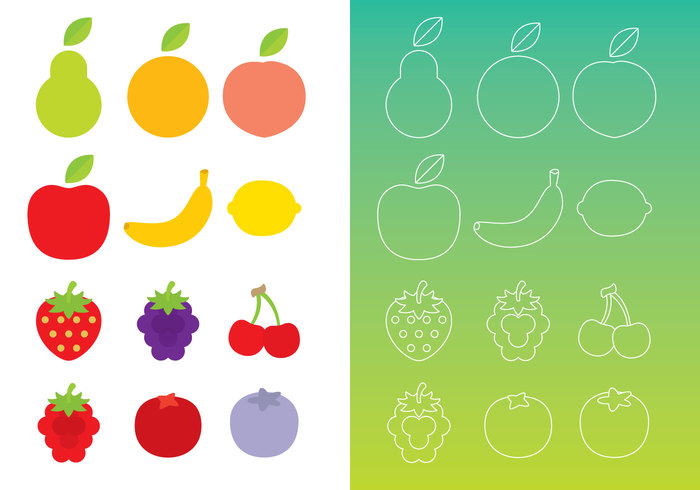yellow vegetarian vegetable vegan tomato thin strawberry squash raspberries pepper Peas pear outline organic onion nature natural minimal linear lime lemon heart green grape fruit fresh flat cherry black berry black berries Berry beet banana apple