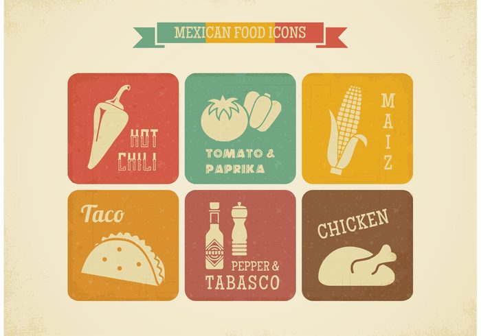 vintage vegetable vector tomato taste taco tabasco symbol Spicy Spice sauce product pepper paprika mexico mexican mais label kitchen jalapeno isolated Ingredient illustration icon hot food design Cuisine cooking cook Chilly chilli chili chicken background