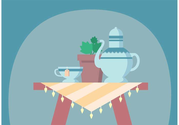 teapot teacup tea time tea party Tea kettle tea cup tea tablecloth table cloth side table retro potted plant pot plant party Houseplant high tea time high tea Girlie fancy