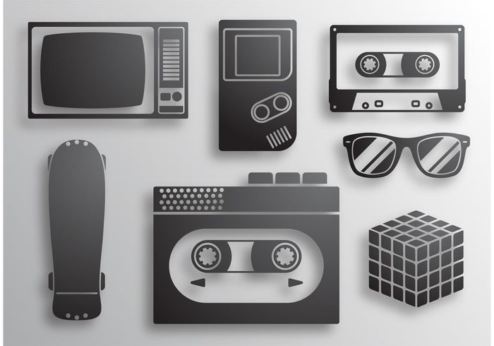 vintage video game tv tape sunglasses sound retro pop party nintendo musical music gameboy eighties disco club cassette tape cassette casette audio 80s music 80's 80 1980
