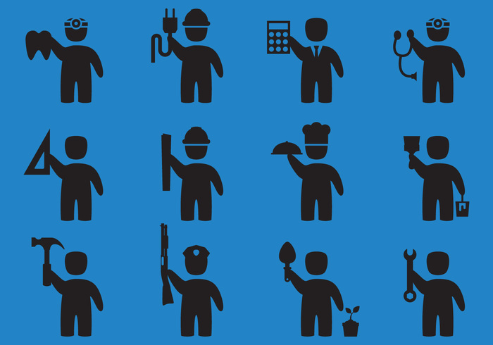 workplace workman worker work icon work wireman welder technician team symbol staff silhouette serviceman professional profession icon profession Plumber pictogram people painter occupation mechanic man icons man icon man male icon male Laborer labor Job isolated industry group foreman fix Engineer employee Electrician construction cartoon Career business builder Architect