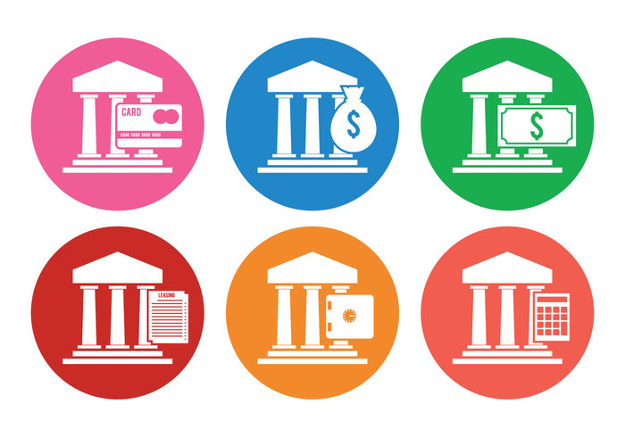 symbol savings money Loan leasing flat financial icon element dollar credit card colorful classic business building bright icon banking bank icons bank icon bank architecture