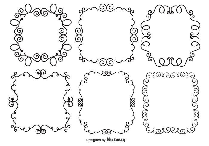 vector tag swoosh swirl sketchy sketch scrapbooking picture frame pattern ornate ornament label isolated hand drawn girly frame set frame floral element drawing doodle vector doodle sketch doodle pattern doodle frames doodle frame doodle design element design decorative decoration cute frames cute curl card making border adorable