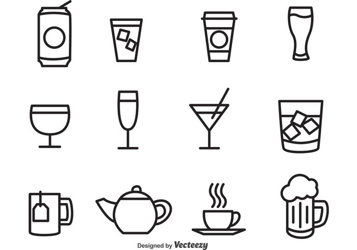 wine glass wine water tequila tea soda can template soda can soda restaurant plastic outline martini juice ice hot tea glass espresso drink cup coke can coffee cocktail can bottle black beer alcohol