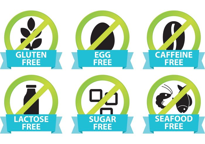 Food Allergy Icons 126275 Welovesolo