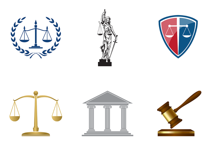 vintage protection office logo legal lawyer law office Law Justice Jury judge house hammer emblem crime corporate company antique