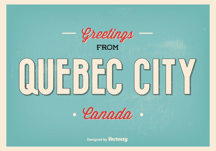 white welcome vintage vancouver USA United typography typographic travel symbol summer statue states skyscraper sky sign retro quebec city quebec canada quebec poster postcard Post card paper modern map landmark holiday greetings greeting card greeting downtown city canada business background america