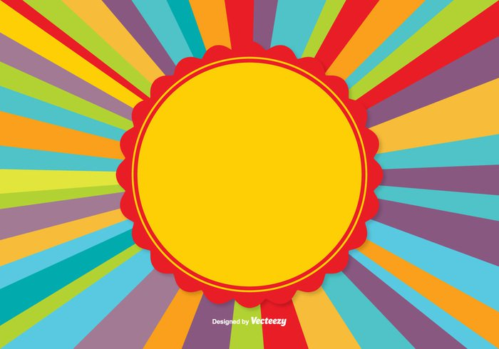 vivid sunny sunburst Sunbeam summer rays Ray psychedelic poster party multicolor line label hippie graphic glow funky fun fine fantasy fancy event element creative copyspace colorful celebration carnival card bright banner Backgrounds background backdrop anniversary abstract