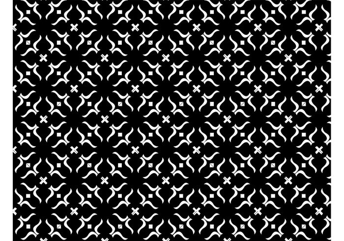 waving wallpaper squares plus geometric shapes fabric pattern diamonds decoration Curved lines cross background