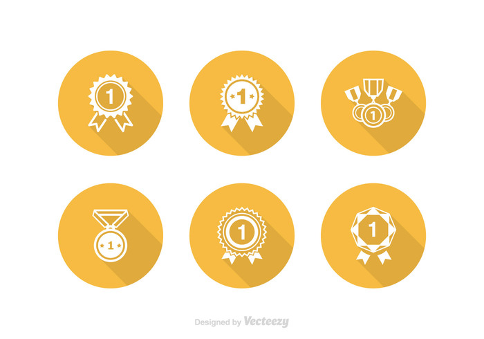 winner win white victory vector trophy symbol success star sport soccer silhouette sign set satisfaction ribbon reward rank race quality prize Place pictogram metal Medallion medal isolated insignia illustration icon honor flat first place ribbon first emblem element design competition Championship champion champ certificate badge award achievement