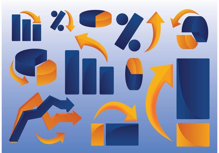 presentation pie Part marketing market investment graph financial finance diagram design data Concepts chart business bullet bar account 3d