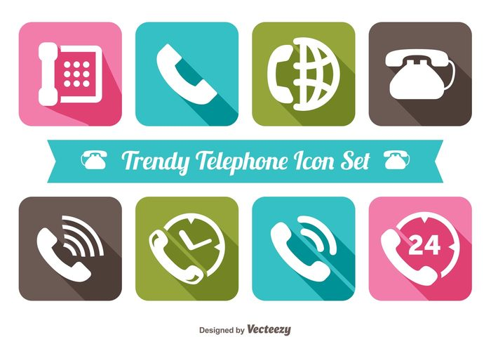 web vintage trendy icons trendy telephone icon set telephone icon telephone Telecommunication technology talk symbol speaker speak sign retro receiver phone office object Nostalgic long shadow live chat isolated illustration icon hotline Helpdesk headphone equipment electronics earpiece earphone dial device conversation contact connection connect communication color collection classic call button business