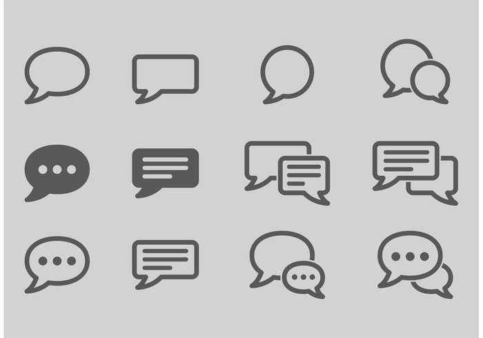 write web ui talk symbol speech speak shape pictogram message live chat isolated icon element dialog conversation communication Chatting chat cartoon bubble blank app