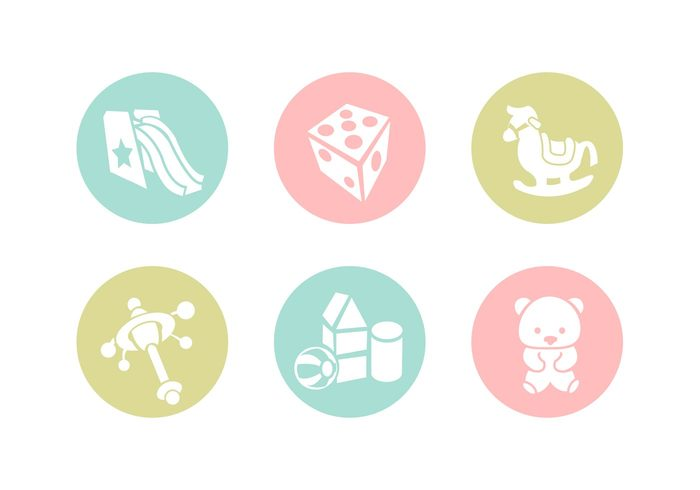 white vector toy symbol slide simple silhouette sign shape set rocking horse rattle pictogram newborn item illustration icon horse graphic girl funny freehand figures element drawing draw dice design decoration cute colorful child bricks boy birth bear baby